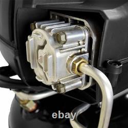 Portable Air Compressor Quiet 20 Gallon 175 psi Tire Pump Nailing Stapling Husky