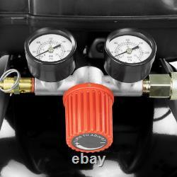 Portable Vertical Electric Air Compressor Wheel Slim Air Tool 200 PSI 20 Gallon
