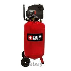 Porter Cable PXCMF220VW 20-Gallon Portable Air Compressor Red