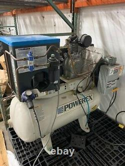 Powerex OTS110154 1 HP 30 Gallon Air Compressor with Hankison Air Dryer
