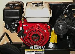 Professional Mega 6.5 HP 10 Gallon Gas wheelbarrow Air Compressor