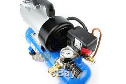 Puma 12 Volt 1.5 Gallon Oil-Less Air Compressor Free Shipping Oiless 12V