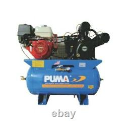 Puma 13-HP 30-Gallon Two-Stage Truck Mount Air Compressor with Electric Start H