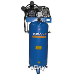 Puma PK-7060V 208-230-Volt 6.5-HP 60-Gallon Single-Stage Air Compressor