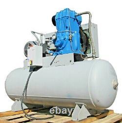 Quincy 325-13 Piston Air Compressor with 80 Gallon Tank
