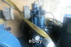 Quincy Duplex Air Compressor 6 HP, 80 Gallon Tank Model 310 FF