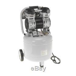 Quipall 10-2-SIL Oil Free Silent Compressor, 2.0 HP, 10 Gallon, Steel Tank New