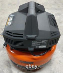RIDGID 6 Gallon 150 PSI Pancake Air Compressor Model# OF60150HB