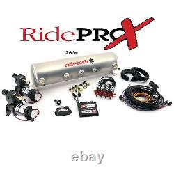 Ridetech Analog-Ridepro X-Airpod Compressor Systems 3 or 5 Gallon Tank, Air Ride