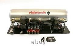 Ridetech Ridepro-x Airpod Compressor & Leveling System, 5 Gallon, Air Springs, Tank