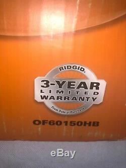 Ridgid Portable Air Compressor 6 Gallon 150 psi with 2 Quick Connectors