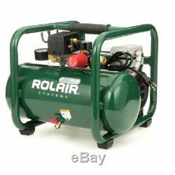 Rolair 1-HP 2.5-Gallon Hot Dog Contractor Air Compressor