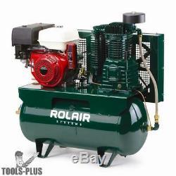 Rolair 13GR30HK30 13 HP Electric-Start Honda 30 Gal Truck-Mount Compressor New