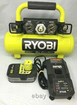Ryobi P739 One+ 18V 1 Gallon Compressor, N