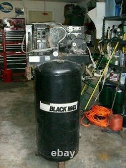 Sanborn Black Max Air Compressor 5 HP 60 Gallon tank