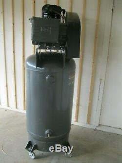 Schulz Air Compressor 7.5hp Single Phase 80 Gallon Tank 30cfm 175 Psi