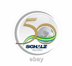 Schulz Air Compressor 7.5hp Three Phase 80 Gallon 30 Cfm + Dryer 35 Cfm