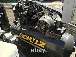 Schulz L-series 20120HLV80BR-3 20HP 120-Gallon Two-Stage Air Compressor