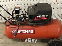 Sears Craftsman 15 Gallon Compressor