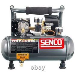 Senco PC1010 1/2 HP 1 Gallon Electric Corded Finish and Trim Air Compressor