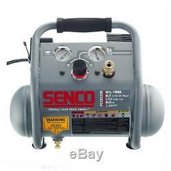 Senco PC1010N 1 Gallon Finish & Trim Air Compressor withFull Warranty