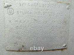 Silvan Industries Pressure Vessel Vacuum Tank Compressor Air Receiver 80 Gallon