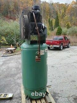 Speedaire 5 Hp 80 Gallon Vertical 208-230V Stationary Air Compressor 35WC43