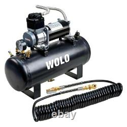 Tornado On-Board Air System w Heavy Duty Compressor & 2.5 Gallon Tank System