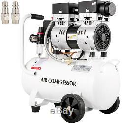 Ultra Quiet Air Compressor, Quiet Air Compressor 5.28 Gallon Oil Free Compressor