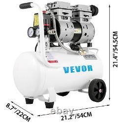 Ultra Quiet Air Compressor, Quiet Air Compressor 6.6 Gallon, Oil Free Compressor