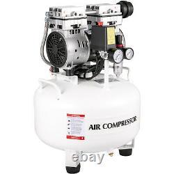 Ultra Quiet Air Compressor, Quiet Air Compressor7.9 Gallon, Pancake Compressor