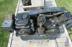 Used 30 Gallon 180 PSI Max Gas Central Pneumatic Air Compressor #1014