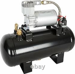 VIAIR 20003 Air Source Kit with 275C Compressor for Train Horns & 1.5 Gallon Tank
