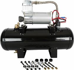 VIAIR 20005 Air Source Kit with 280C Compressor for Train Horns & 2 Gallon Tank