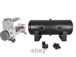 VIAIR 444C Air Compressor with 2 Gallon Tank 120 PSI Pressure Switch and Relay