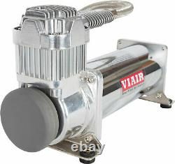 VIAIR 444C Air Compressor with 2 Gallon Tank 175 PSI Pressure Switch and Relay