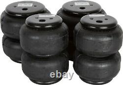 VIAIR Dual 444C Compressors with 5 Gallon Tank & 4ct 2500lb Air Lift Bags 12V