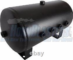 VIAIR Dual 444C Stealth Black Air Compressors with 5 Gallon Tank 12V, 150 PSI