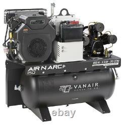 Vanair 050680, Air N Arc 150 30 Gallon Air Storage, 11.5 Gallon Fuel Storage