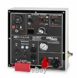 Vanair 050817, Air N Arc 250 25 HP EFI 30 gallon air storage and 11.5