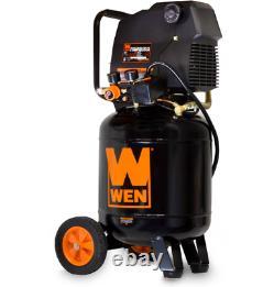 Vertical Air Compressor Oil Free Workshop Garage Professional Home 10-Gallon NEW