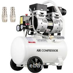 Vevor Ultra Quiet Air Compressor, Oil Free Compressor 4.75 Gallon Air Compressor