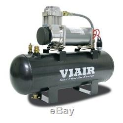 Viair 200 PSI Fast Fill Air Source Kit 380C Compressor 20007 with 2 Gallon Tank