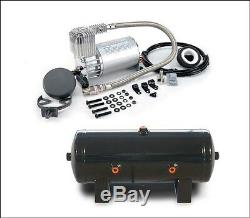 Viair 275C 150 PSI Max. Air Compressor with 2 Gallon 6 Port Steel Tank Air Ride