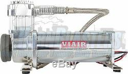 Viair 444C Compressor with 5 Gallon Tank, 120 PSI Pressure Switch & 40 Amp Relay