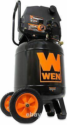 WEN 10-Gallon Oil-Free Vertical Air Compressor black (2289)