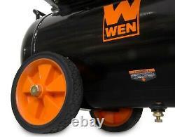 WEN 6-Gallon Oil-Lubricated Portable Horizontal Air Compressor