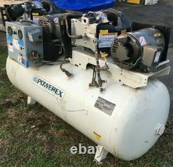 WHOLESALE! Powerex STD050441 5 HP Air Compressor Oilless Scroll 120 Gallon Tank