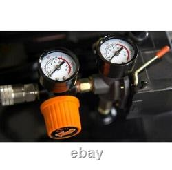 Wen 2202 135PSI 20-Gallon Oil-Lubricated Portable Vertical Air Compressor